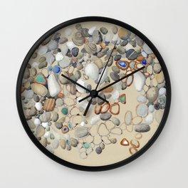 Sea Shore of Minori, Amalfi Coast, Italy Wall Clock