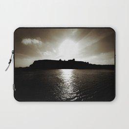 Whitby abbey sunset Laptop Sleeve