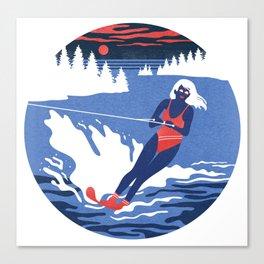 Camp Grindlestone Canvas Print
