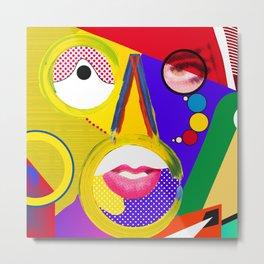 Color portrait Metal Print