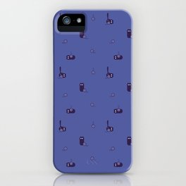 Cats and wool ball iPhone Case