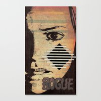 rogue Canvas Prints featuring Rogue by Joellart