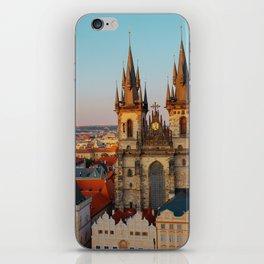 Orange Roofs of Prague iPhone Skin