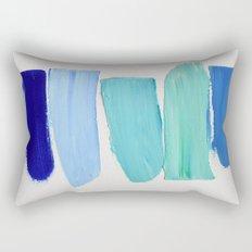 Ocean Blues Rectangular Pillow