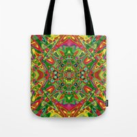 persian Tote Bags featuring Persian 3 by Glanoramay