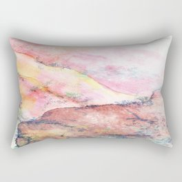 abstract landscape painting Rectangular Pillow