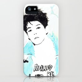 Luhan Watercolor iPhone Case