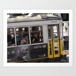 Tram Art Print
