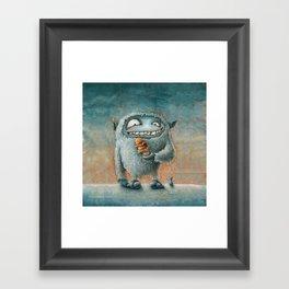 Yeti Beti Framed Art Print