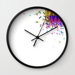 Sanaa Explosion Wall Clock