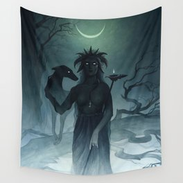 Hecate ~ A Compendium of Witches Wandbehang