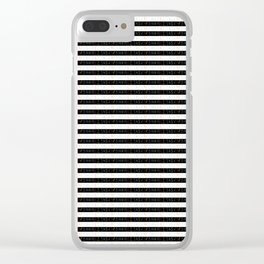 Number 3- count,math,arithmetic,calculation,digit,numerical,child,school Clear iPhone Case