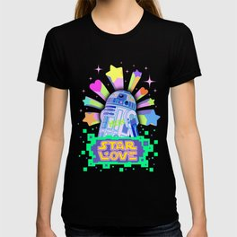 R2-D2 Star Love T-shirt