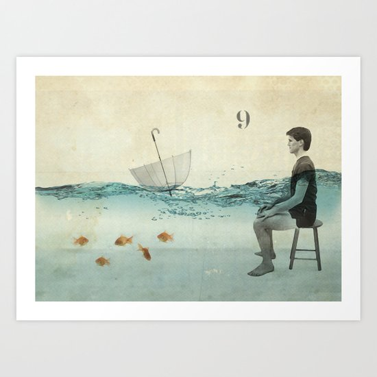 never one when you need one Art Print
