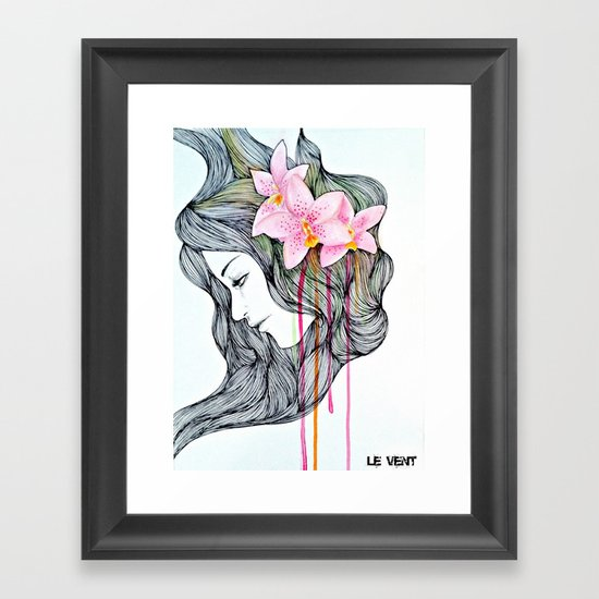 Unconscious conversation with...  Framed Art Print