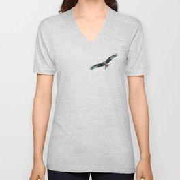 Red Kite Unisex V-Neck