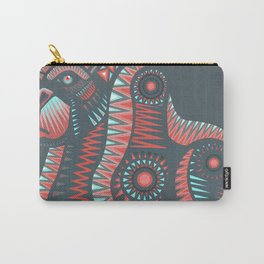 Mexican gorila hand drawn vector illustration Carry-All Pouch