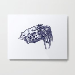 cuttle Metal Print