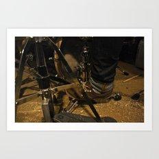 DrumMess Art Print