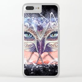 LOOK DEEPER Clear iPhone Case