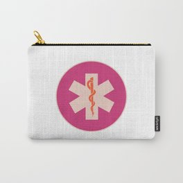 Medic ID Symbol (Pink Multi) Carry-All Pouch