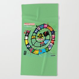 Gioco dell'Oca - The Game of the Goose (RDVM06) Limited Edition Beach Towel