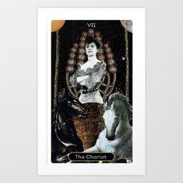 7. The Chariot Art Print