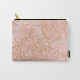 Nashville map, Tennessee Carry-All Pouch