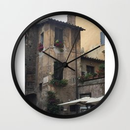 A Dilapidated Delight  Wall Clock