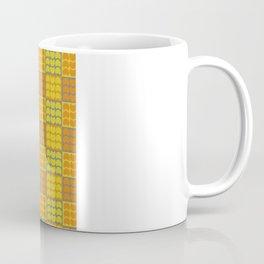 Hob Nob Orange Quarters Coffee Mug