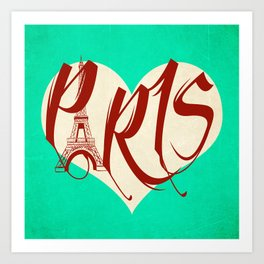 Paris New Art Print