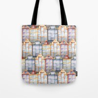 amsterdam Tote Bags featuring  Amsterdam by Julia Badeeva