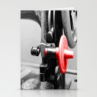 sewing Stationery Cards featuring Sewing Machine by Four Hands Art