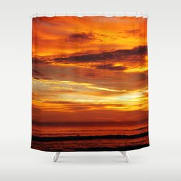 Another Beautiful Costa Rica Sunset Shower Curtain