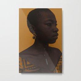 Black Beauty. Metal Print