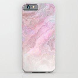 Frozen Iridescent Fantasy Marble - Pink iPhone Case