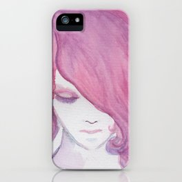 Magenta iPhone Case