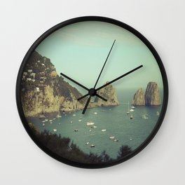Amalfi coast, Italy 2 Wall Clock