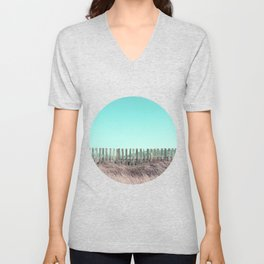 Candy fences Unisex V-Neck