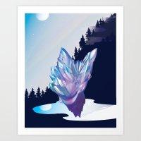 gem Art Prints featuring Gem by sduganfields