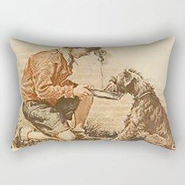 Be Kind To Animals 3 Rectangular Pillow