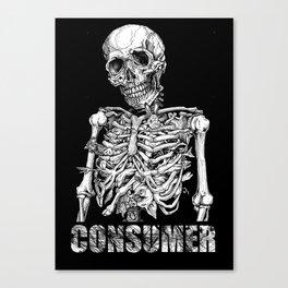 CONSUMER 5 Canvas Print