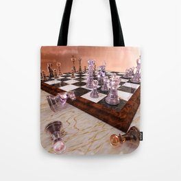 A Game of Chess Tote Bag