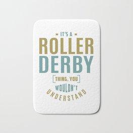 Roller Derby Thing Bath Mat