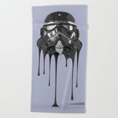 Shadowtrooper Melting 01 Beach Towel