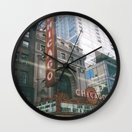 let's go see a show Wall Clock