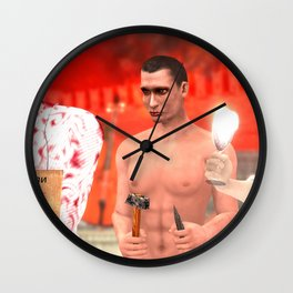 SquaRed: Cracking the Wall Wall Clock