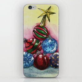 Tree of Ornaments iPhone Skin