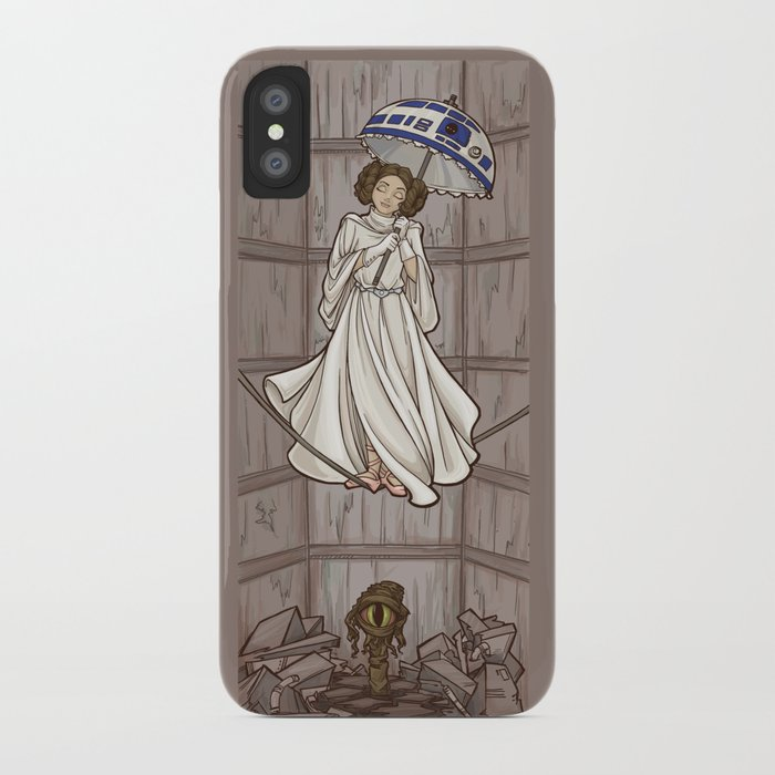 Leia's Corruptible Mortal State iPhone Case