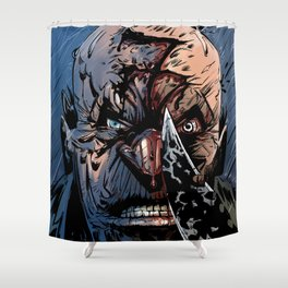 WRATH OF GOD - Seven Shower Curtain
